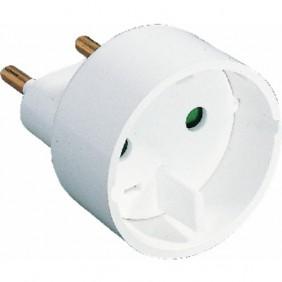Adaptateur électrique mâle 6A / femelle 16A 0.104.12 EBENOID