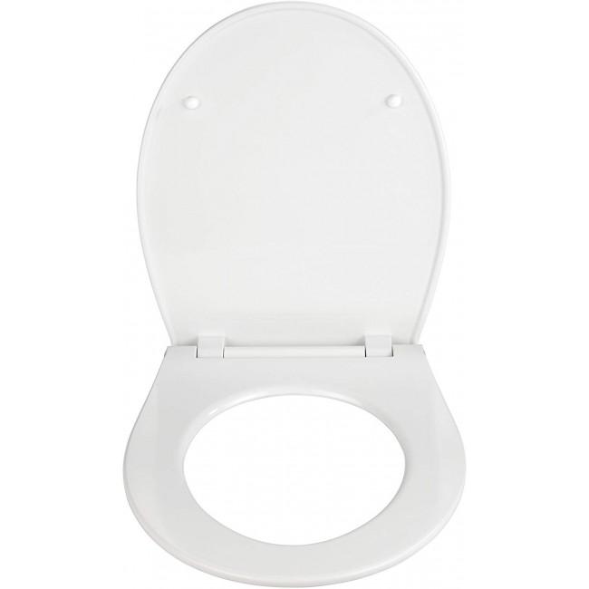 Abattant WC - Thermodur - Fix-Clip/Easy-close et veilleuse nuit LED WENKO