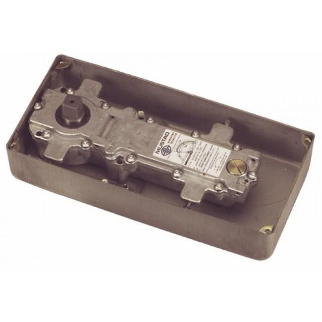 Pivot de sol Mustad 86 N TH Thermo+ pour réhabilitation de porte en verre NORMBAU