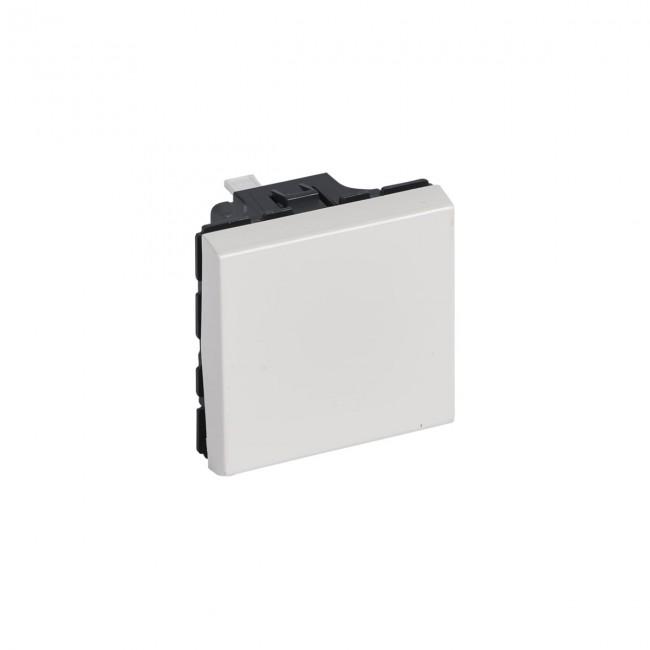Permutateur Mosaic - 2 modules - 10 AX - blanc LEGRAND