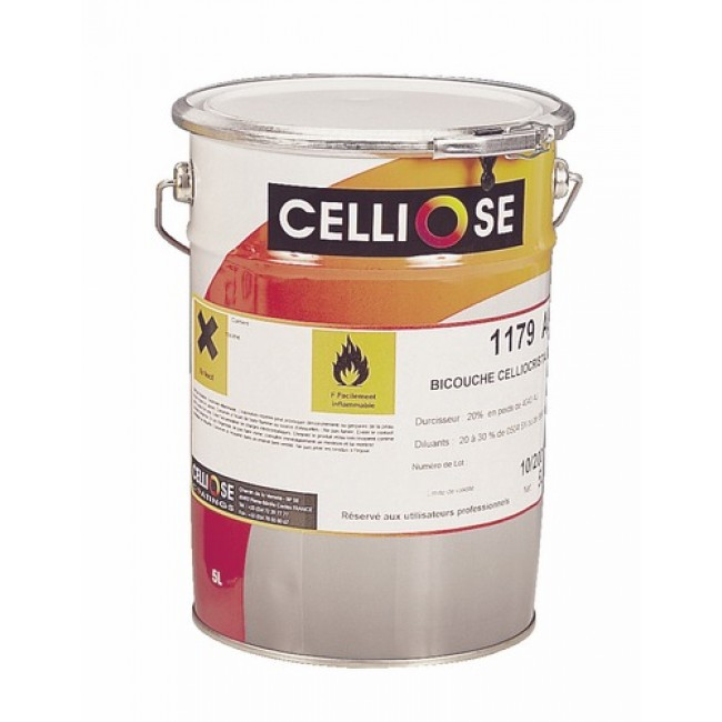 Vernis de finition bi-couche 1179 AU Celliocristal 5L CELLIOSE