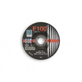 Disque métaux acier inox F100 à moyeu déporté SEA Abrasifs