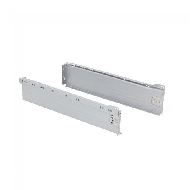 Kit tiroir Ultrabox-hauteur 86 mm-gris métallisé EMUCA