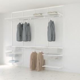 Kit Dressing Classique Plus - L240x40 cm - Blanc ELFA