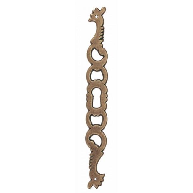 Entrées de clé coq 30 647 - laiton bronze BOSETTI