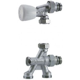 Corps de robinet thermostatique bitube à 2 voies R438TG GIACOMINI