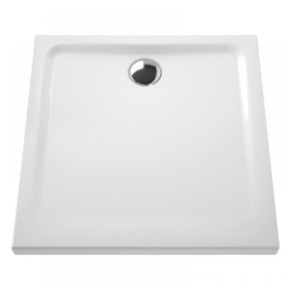 Receveur A Poser Extra Plat En Ceramique 80x80 Cm Vitra Bricozor