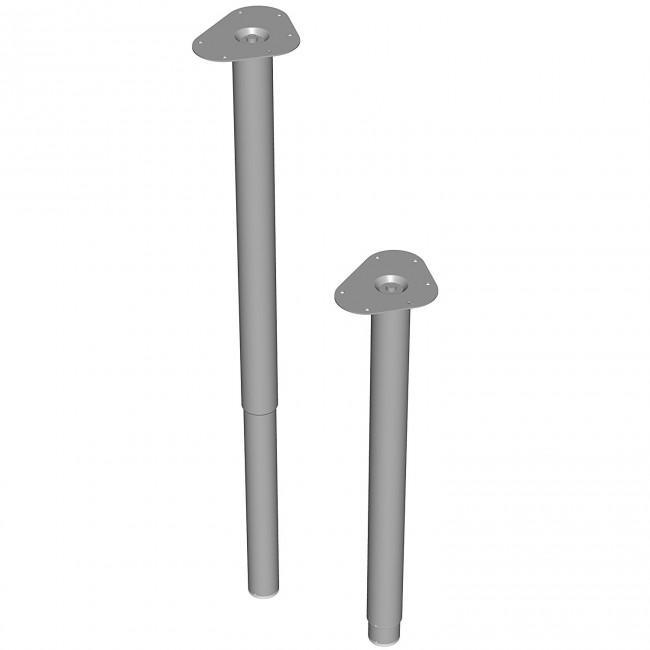 Pied télescopique - diamètre 50 mm ELEMENT SYSTEM