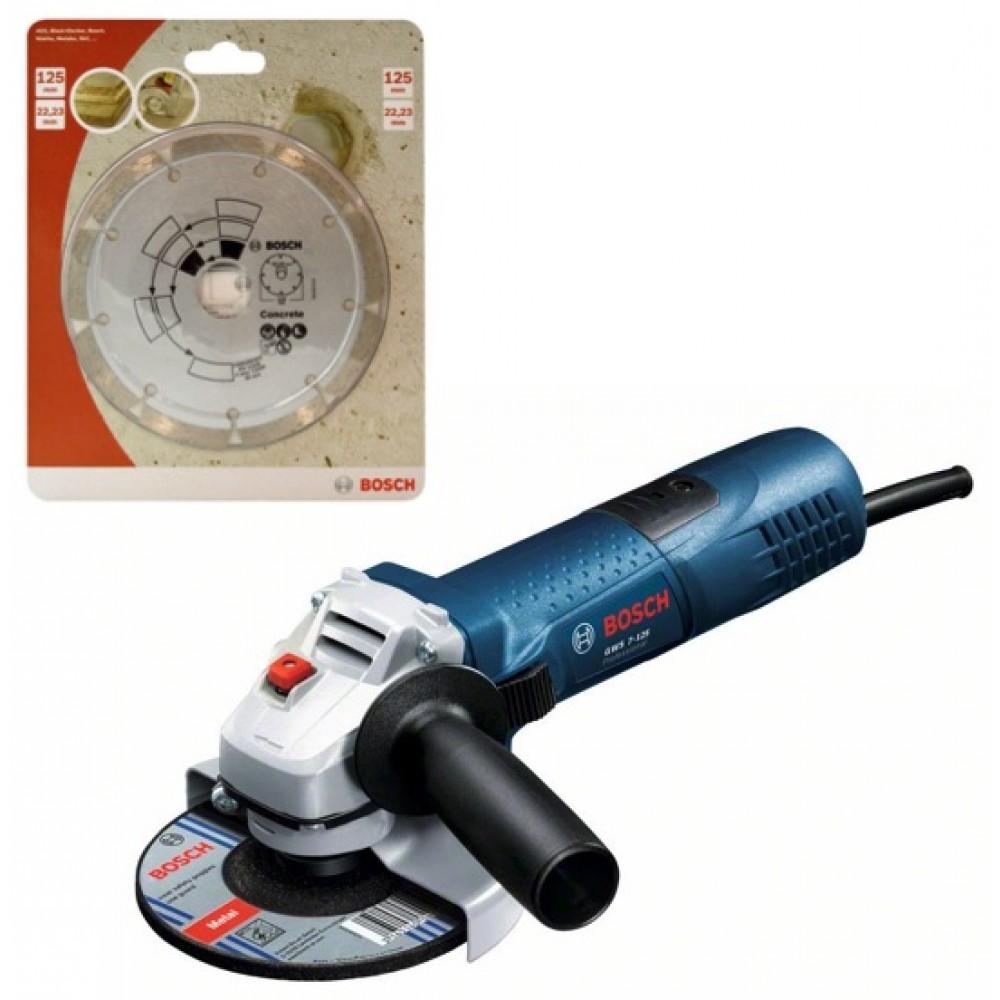Bosch Professional Meuleuse Angulaire X-Lock GWX 17-125 S 1700 W, /Ø de meule : 125 mm, Coffret