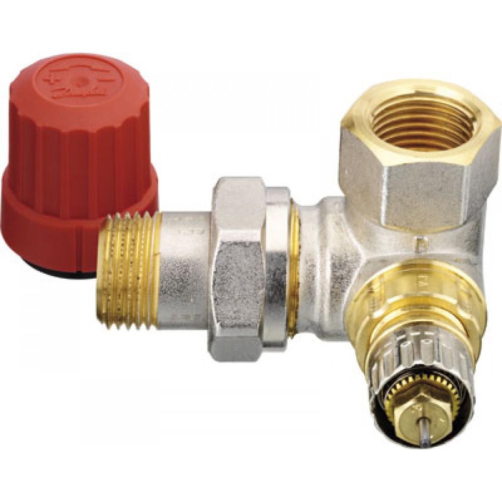 Corps de robinet d 39 angle c t gauche ra n 15 - Robinet thermostatique radiateur danfoss ...