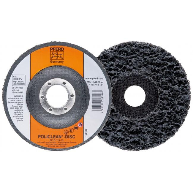 Disque abrasif Poli Clean en fibres - diamètre 125 mm - PCL 125-13 PFERD