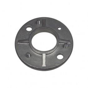 Embase à souder - diamètre 100mm - poteau garde-corps - inox Design Production