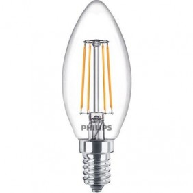 Ampoule LED - 4W - E14 - Flamme B35 - filament PHILIPS (SIGNIFY FRANCE)