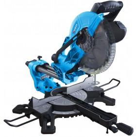 Scie à onglets radiale sor250 - 250 mm - 2000 w -  stand etabli est290 LEMAN
