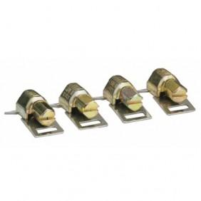 Têtes pour colliers de serrage - bande ajourée sans fin - 50 pièces SERFLEX