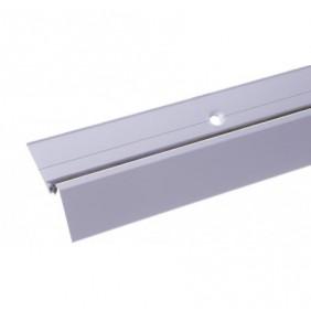 Seuil de porte-fenêtre bois avec joint - longueur 0,99m - argent BILCOCQ