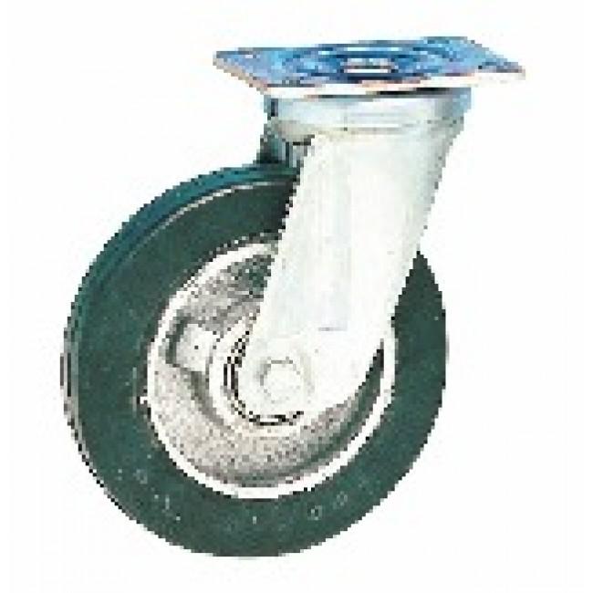 Roulette pivotante sur platine - fortes charges - Fort Roll GUITEL