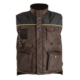 Gilet multi-poches doublure polaire ALTEA Marron/Noir ARCOTEK