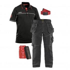 Pack pantalon 1500+polo 3327+ceinture et genouillères offerts BLAKLADER
