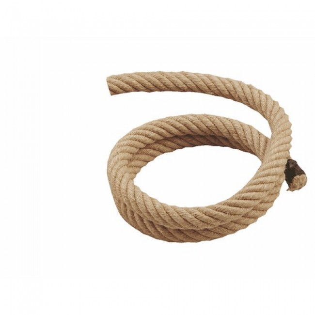 corde en chanvre pour rampe d 39 escalier diam tre 28 mm. Black Bedroom Furniture Sets. Home Design Ideas