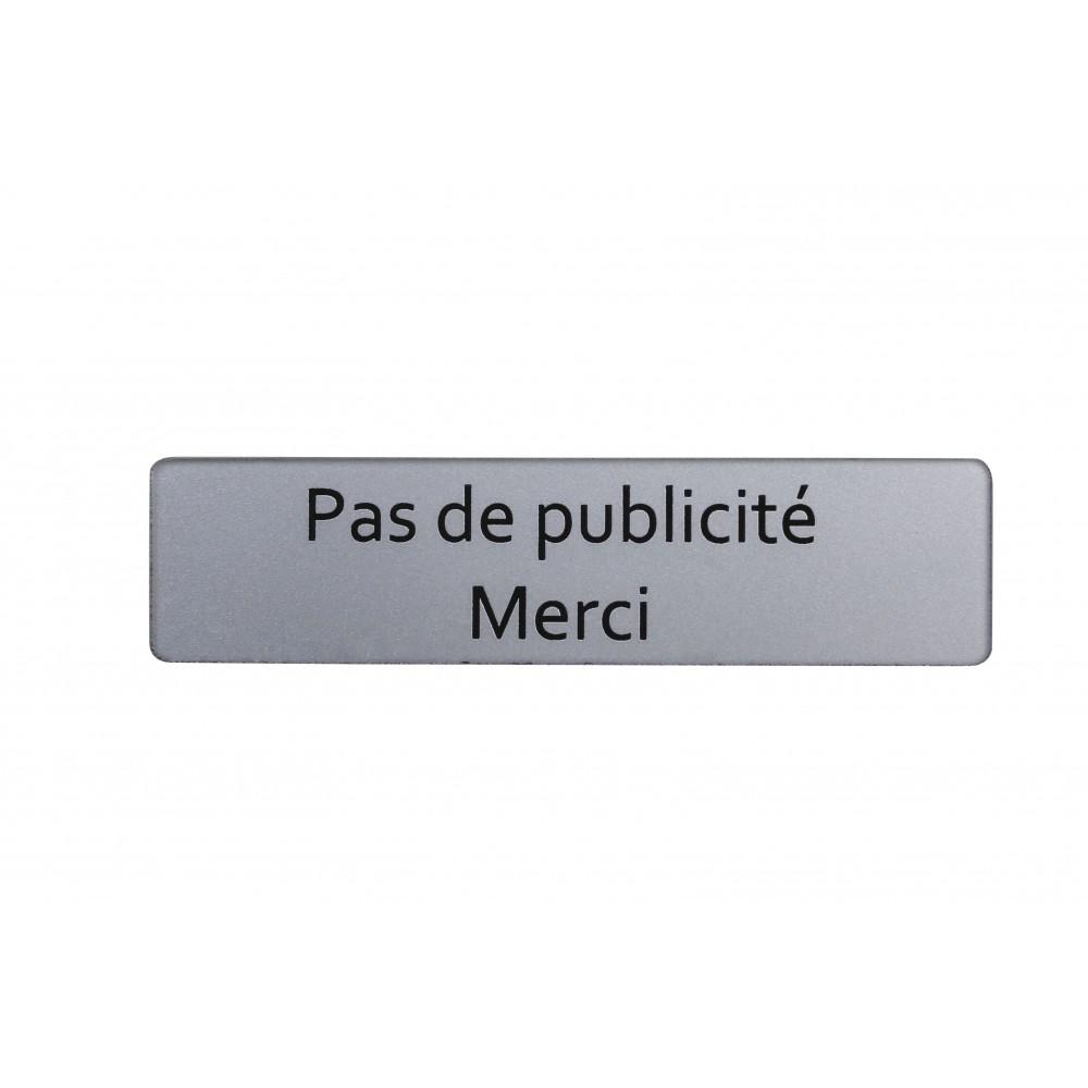 Plaque Signaletique Pour Boites Aux Lettres Adhesive Renz Bricozor