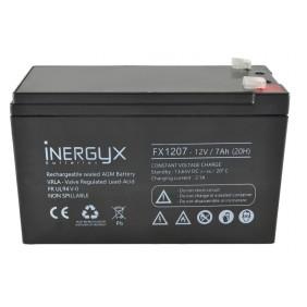 Batterie 12V rechargeable - pour gâche et ventouse - FX 1207 Izyx