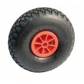 Roue à bandage increvable - roulement à rouleau - diamètre 260 mm AVL
