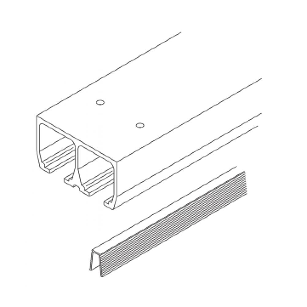 rail coulissage double pour porte coulissante dorado 40 if hawa bricozor. Black Bedroom Furniture Sets. Home Design Ideas