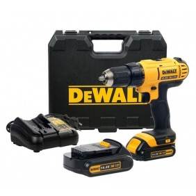 Perceuse-visseuse 14,4 V DCD734C2 + 2 batteries 1,3 Ah lithium-ion DEWALT