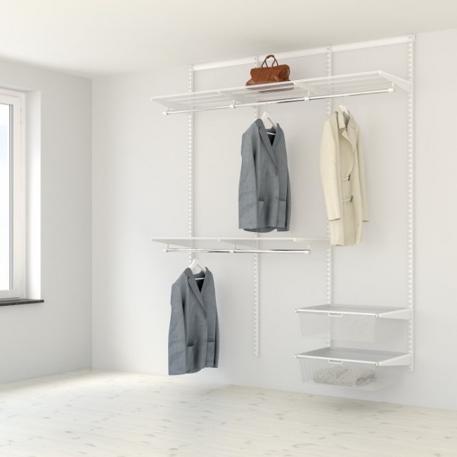 Kit dressing - L180xP40 cm - blanc ELFA