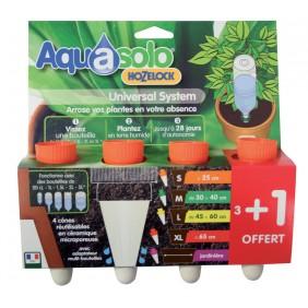 Cône Aquasolo pack 3+1 ORANGE Taille S AQUASOLO BY HOZELOCK