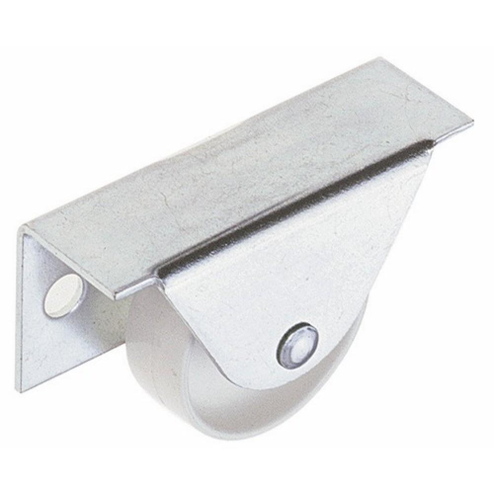 Roulette fixe pour meuble blanc ludmann bricozor Meuble roulette