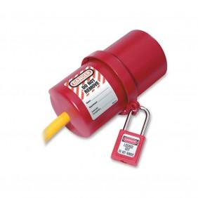 Dispositif de consignation - grande prise électrique - 240 V et 550 V MASTER LOCK