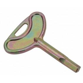 Clé carré 6mm mâle pour serrure batteuse MÉTALUX
