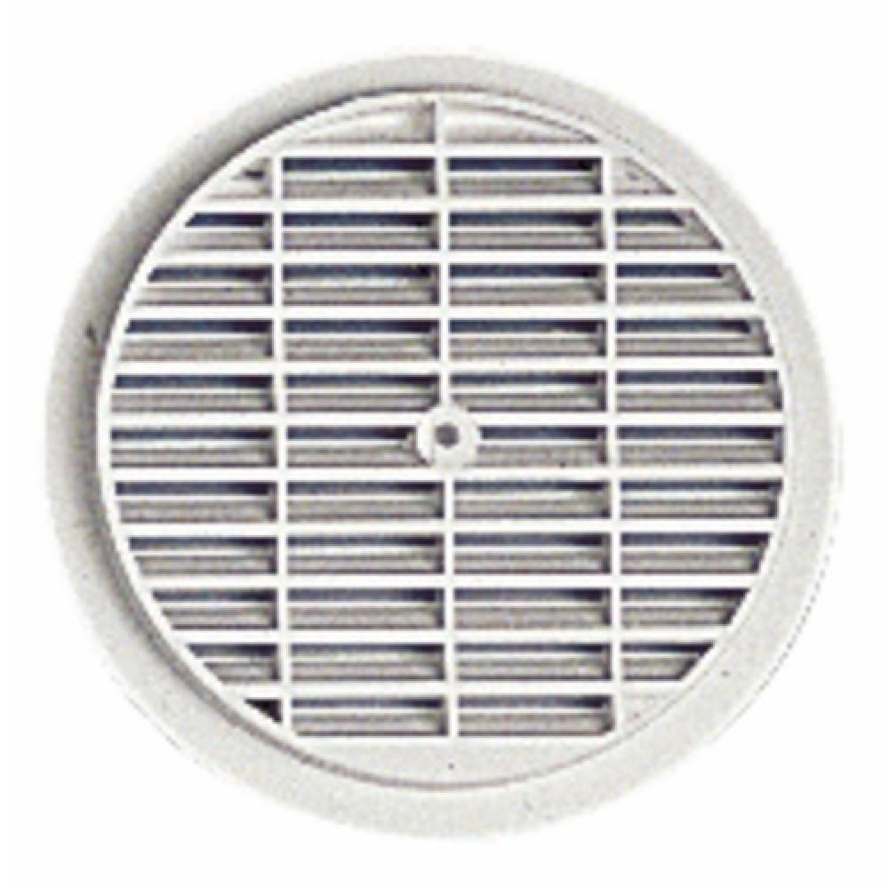 Grille de ventilation ronde visser ou coller nicoll - Grille de ventilation prix ...