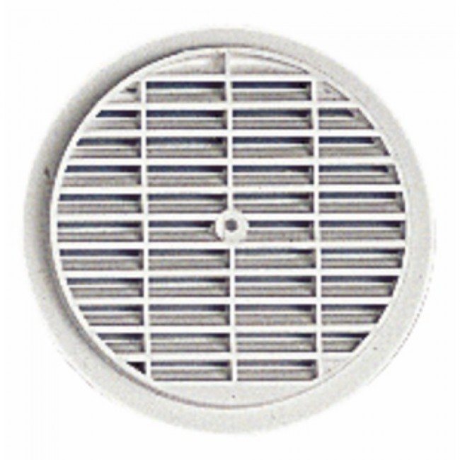 Grille de ventilation ronde - à visser ou coller NICOLL