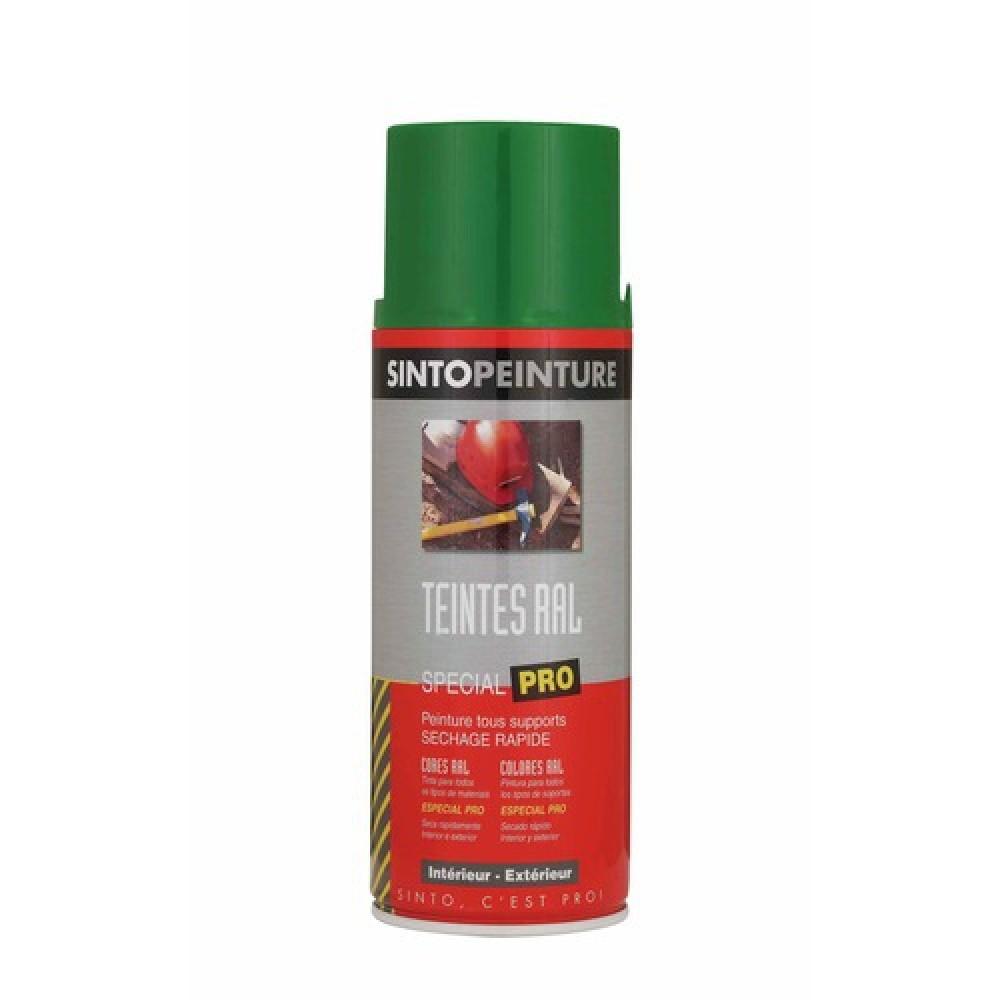 Bombe de peinture antirouille et solvant e multi supports 400ml sinto bricozor - Bombe anti rouille ...