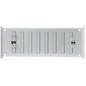 Grille d'aération plate - grille métallique réglable BRICOZOR