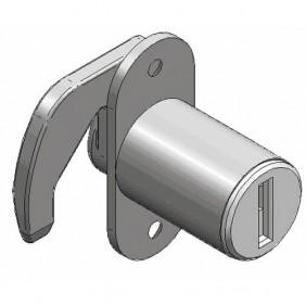 Serrure Meuble Pour Porte Coulissante GRAPPIN ANNAT Bricozor - Porte placard coulissante avec cylindre serrure