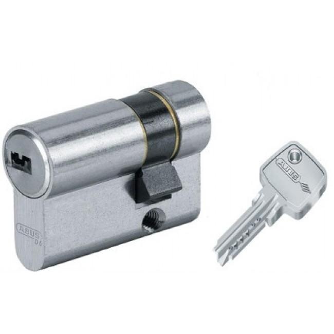 Demi cylindre - 30 x 10 mm - EC-S - varié - laiton nickelé ABUS