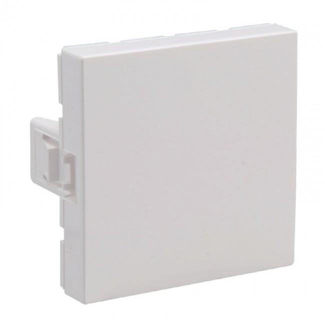 Obturateur Mosaic - 2 modules - blanc LEGRAND