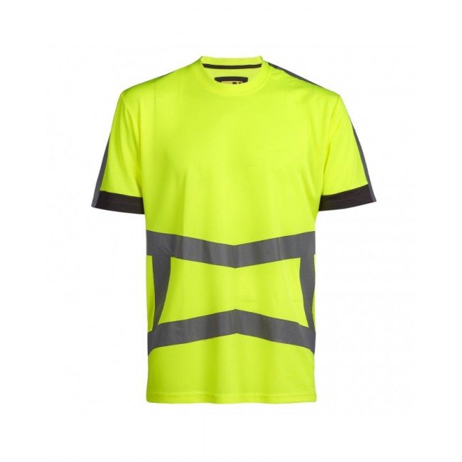 T-shirt haute visibilité -Jaune fluo - Armstrong North Work