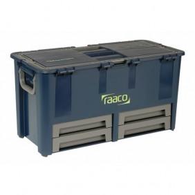 Coffre à outils plastique incassable Compact 62 litres RAACO