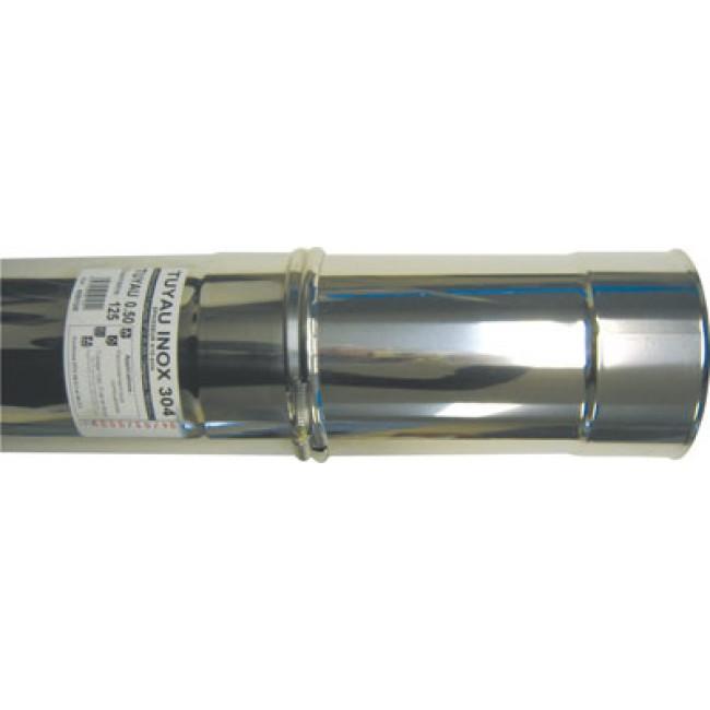 Tubage rigide coulissant inox 304 - simple paroi TEN