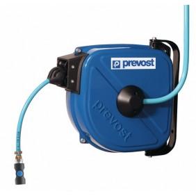 Enrouleur pneumatique DRF + 12 m de tuyau air comprimé PRÉVOST