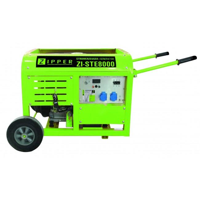 Groupe électrogène - puissance 10,0 KW/3600min-1 - STE8000 ZIPPER