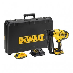 Cloueur sans fil 18 V DCN660D2 + 2 batteries XR lithium-ion DEWALT