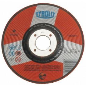 Disques à ébarber métaux inox Basic-diamètre 125mm TYROLIT