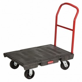 Chariot de manutention - dossier fixe - charge 900 kg RUBBERMAID
