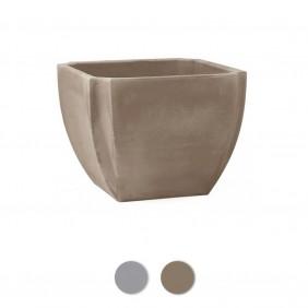 Bac à fleurs carré - 46 litres - Palmea 13908 EDA PLASTIQUES